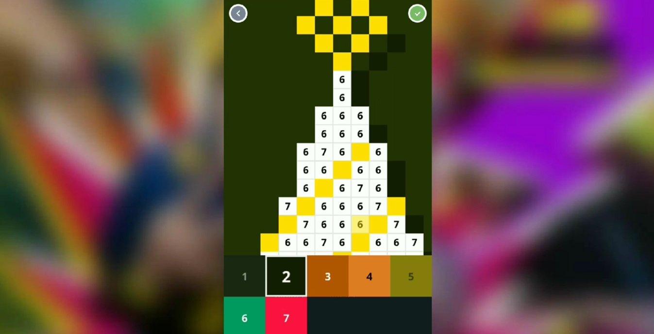 игра Pixel Art раскраска по номерам V4 6 полная версия