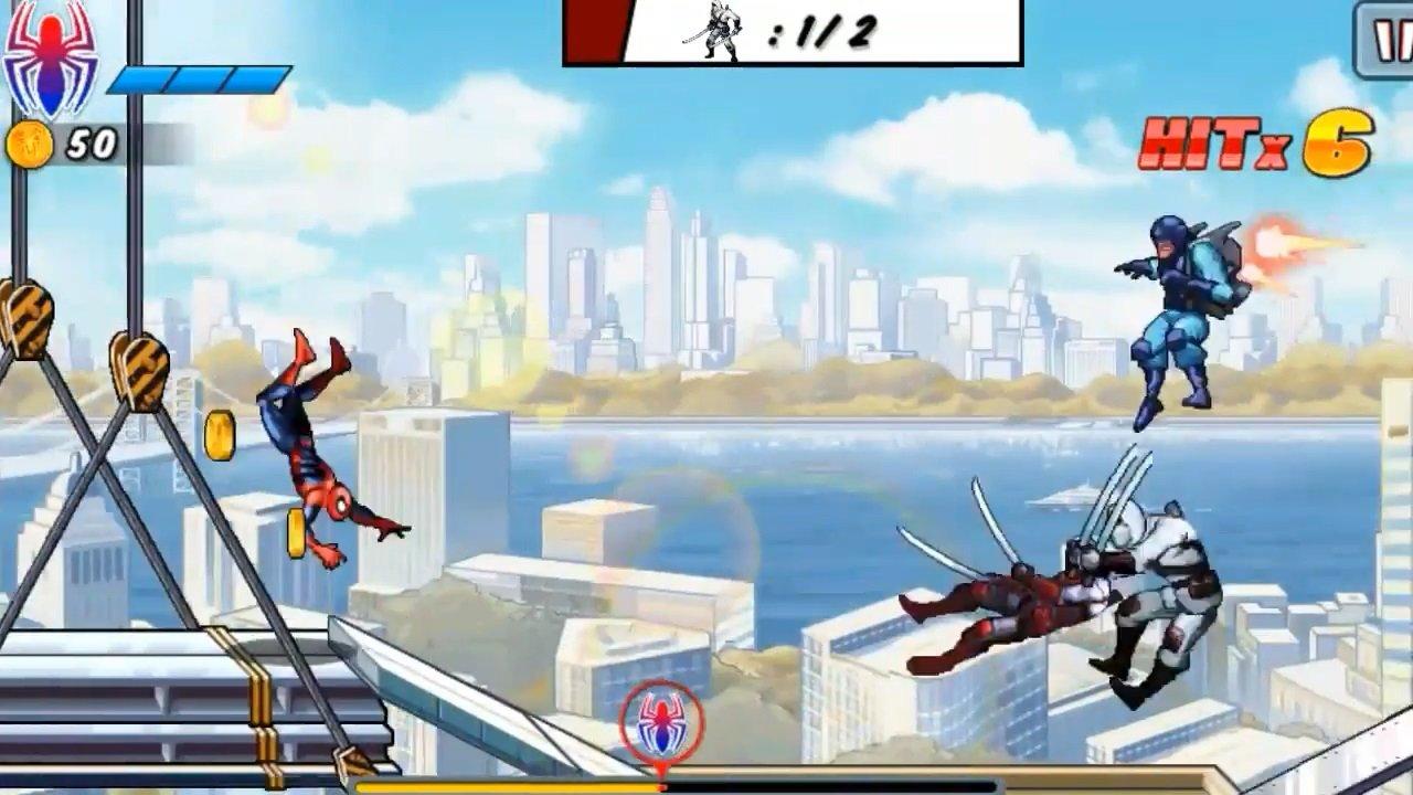 скачать человек паук невероятная сила взлом