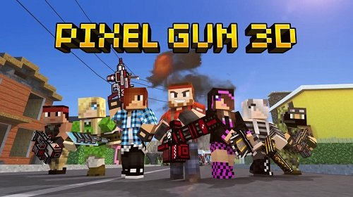 скачать pixel gun 3d взломанную версию